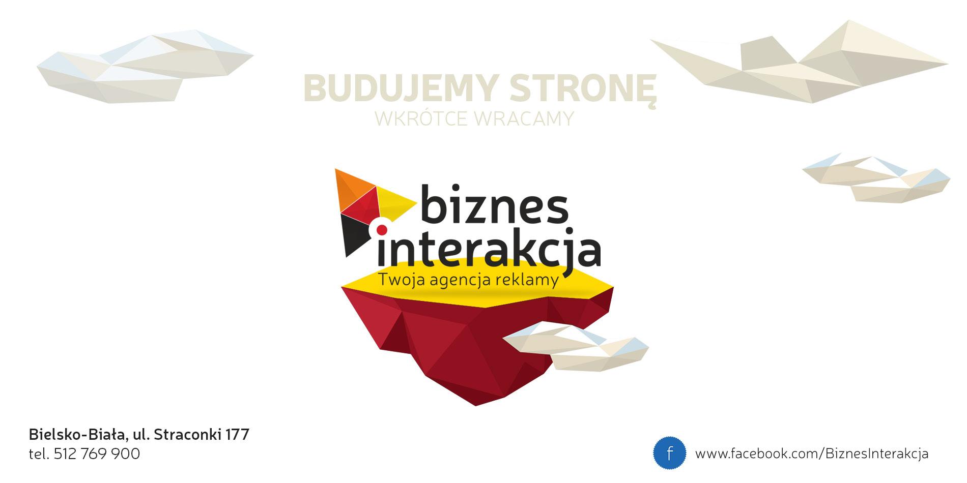 Biznesinterakcja-Agencja reklamy Bielsko-Biała,reklama,strony www,grafika,ulotki,wizytówki,plakaty-Bielsko-Biała